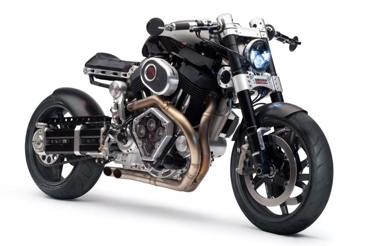 X132 Hellcat from Confederate.  Cafe racers need to do more than just look cool.  Not crazy about a  V-twin but at least it's not just another Hog