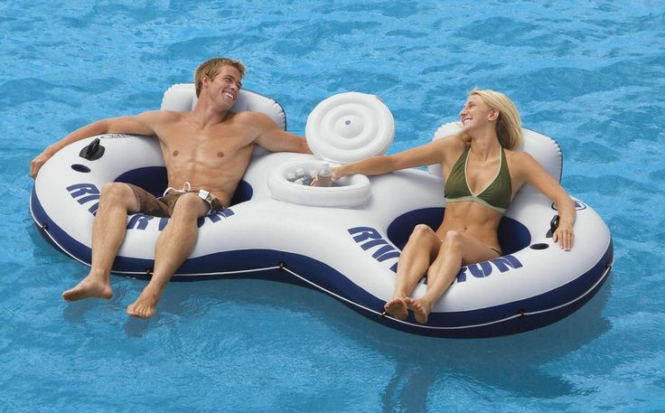 Intex Recreation River Run Ii 56 X 104 In Inflatable
