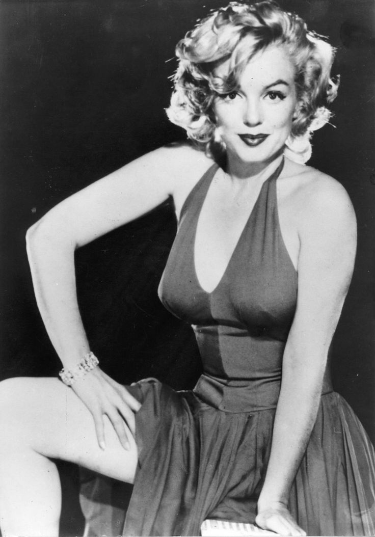 Marilyn - she is so unapologetic about being sexy, no hesitation, no pretense, just pure sex appeal. Love it!