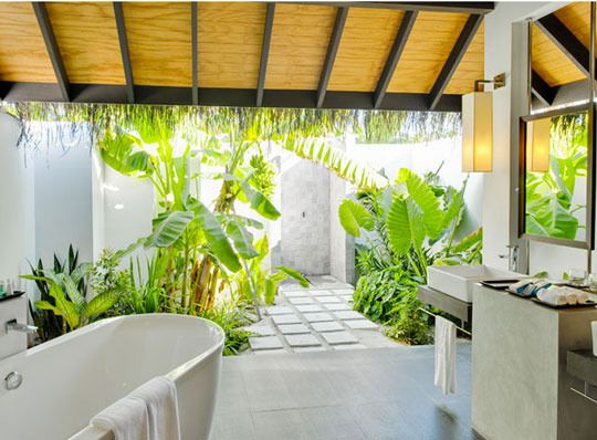 92 Best Outdoor Bathrooms Images On Pinterest  Bathroom Impressive Luxury Outdoor Bathrooms Review