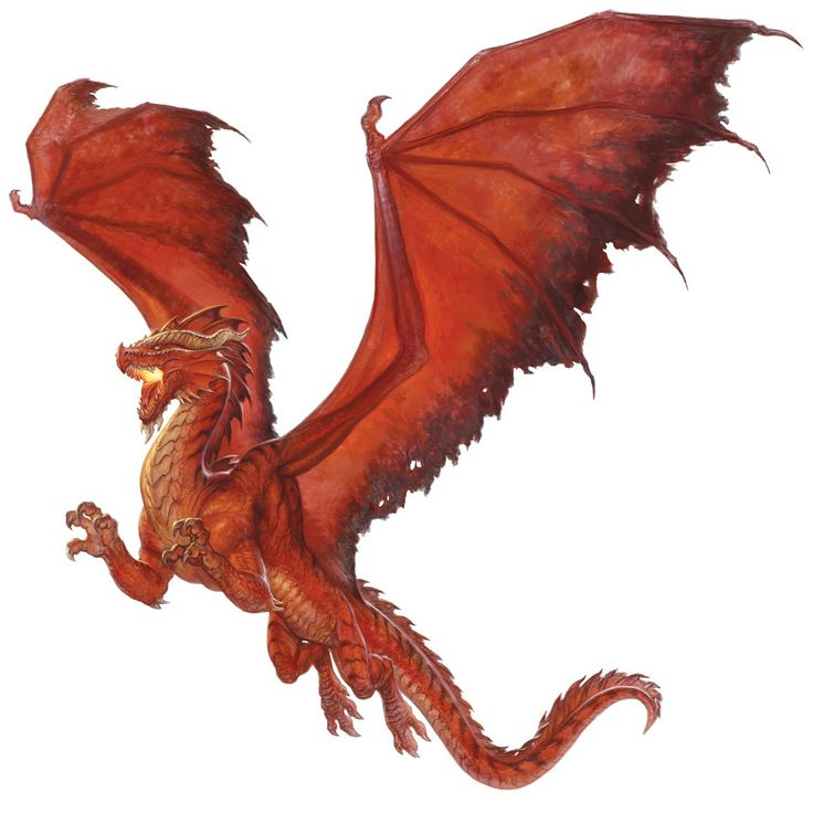 Ancient Red Dragon » Dungeons Dragons DD