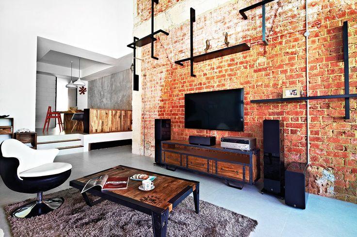 Original Brick wall, Designs