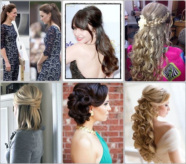 Top 3 Easy half updo hairstyles you should try | Hairstyles |Hair Ideas |Updos