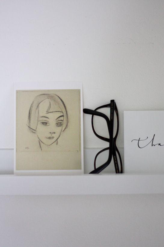 homevialaura | Marc by Marc Jacobs eye glasses | Ylva Skarp | postcard