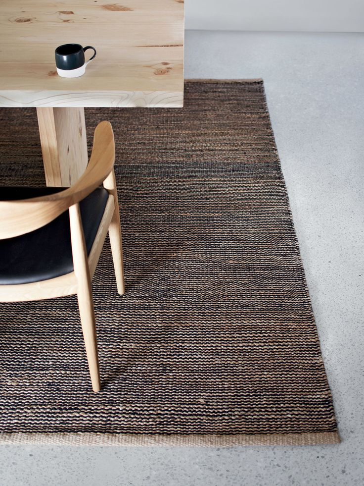Soft hemp rug | collected By Mölle