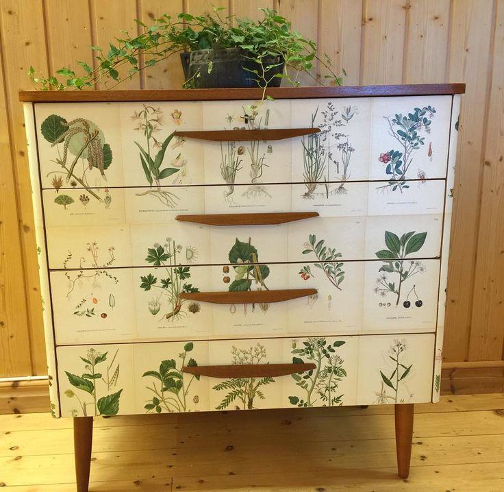 #florabyrå #butterflyvintage #fabriksny #retro #byrå #retrodesign