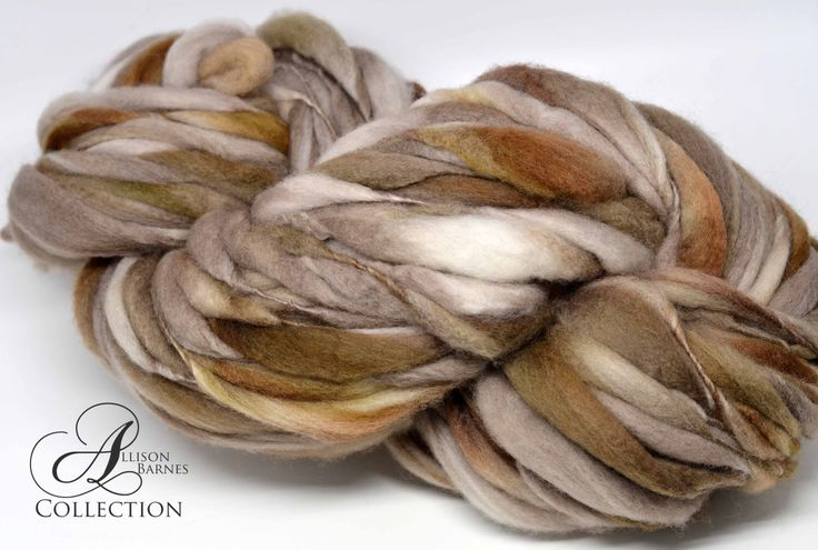 Handspun Thick and Thin Super Bulky Chunky Merino Wool Yarn Truffle by allisonbCOLLECTION on Etsy https://www.etsy.com/ca/listing/494534862/handspun-thick-and-thin-super-bulky