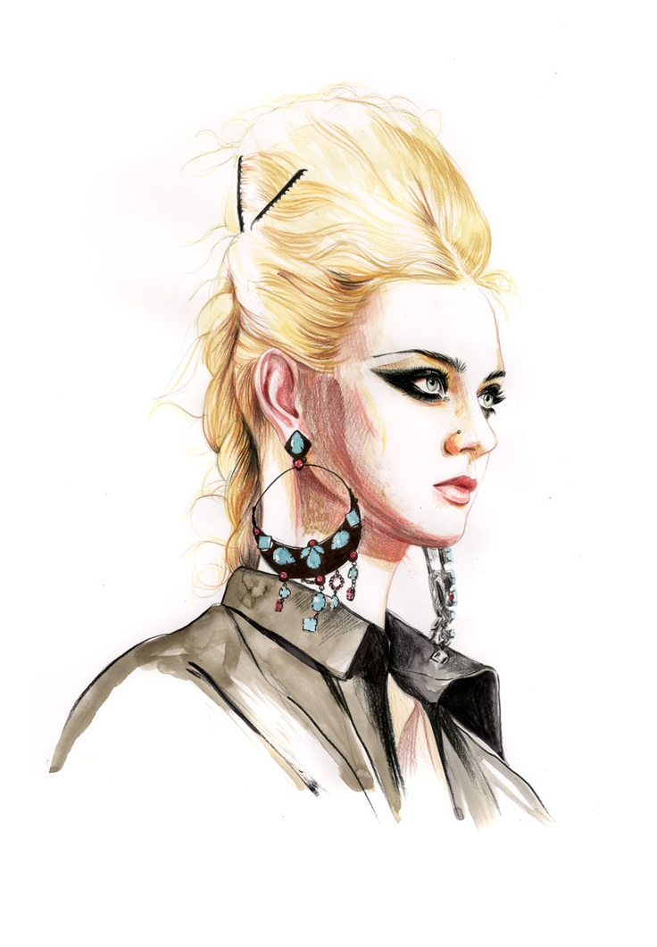 nastya-kusakina_jean-paul-gaultier-couture.jpg (750×1082)