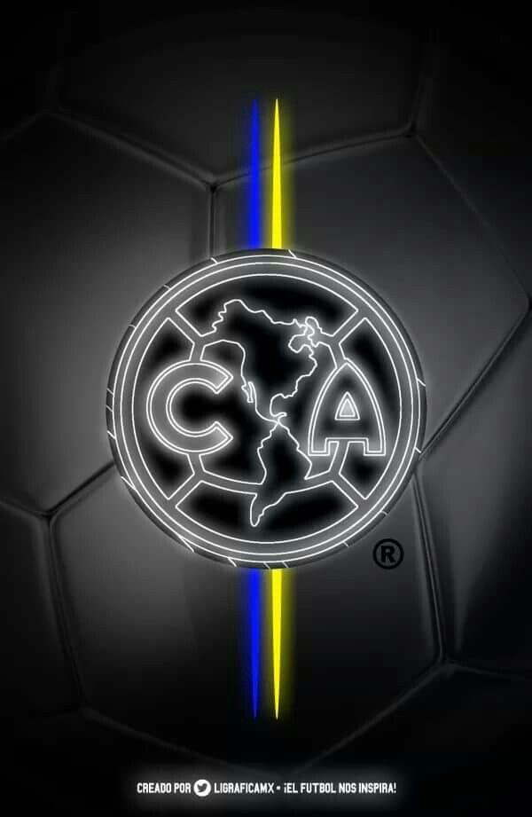 Club Águilas del AMÉRICA... azul crema