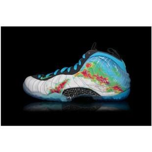 www.anike4u.com/ Cheap Nike Foamposite One Blue White Red