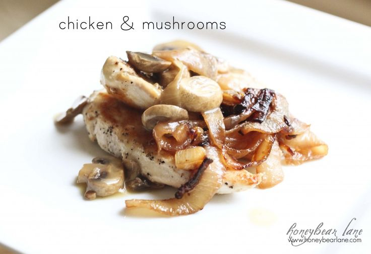 Simple Chicken & Mushrooms recipe - your guests will love this!