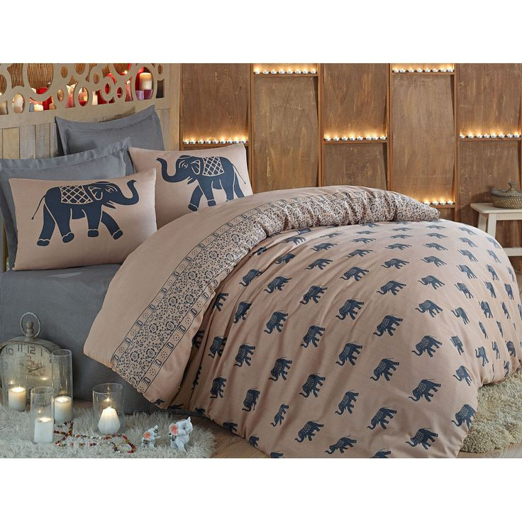 Lenjerie de pat cu cearșaf Fil, 200x220 cm