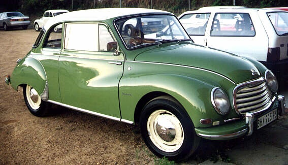1956 DKW F93 Tourer, Released by Auto Union as a Update DKW 3, with wider body and updated front grille etc.