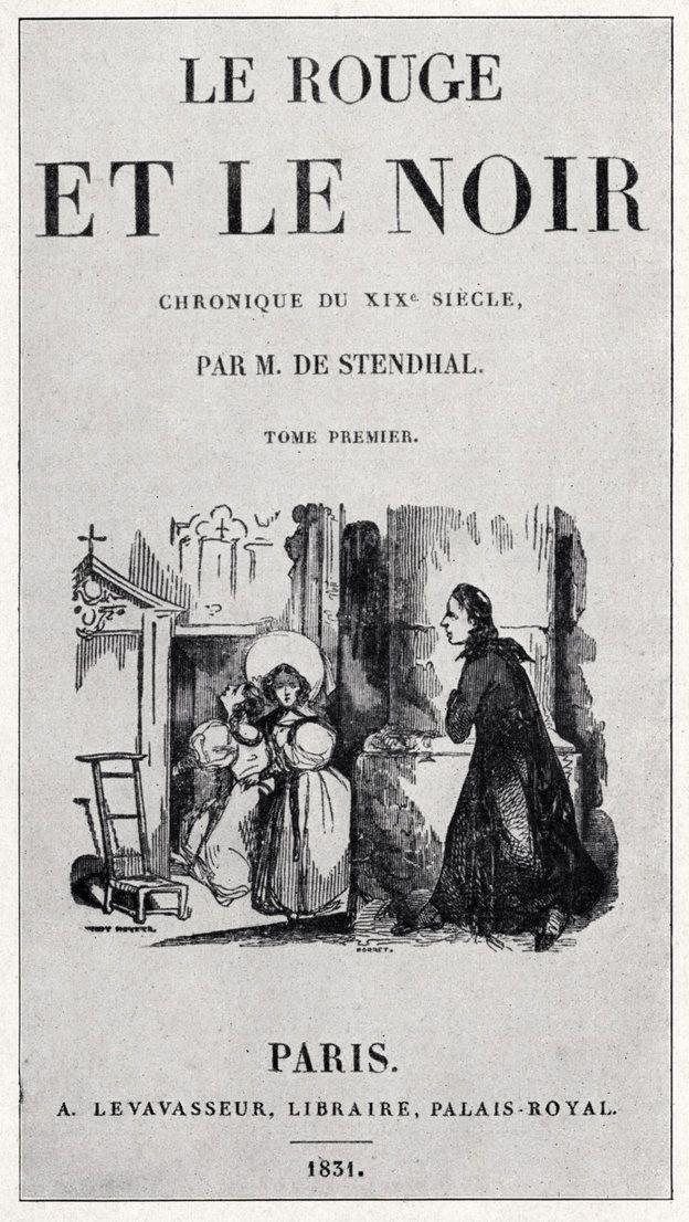 'Le Rouge et le Noir' M. de Stendhal First Edition from Getty Images
