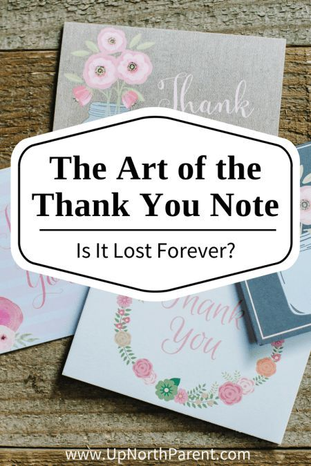 the lost art of thank you notes Thank you notes have been around even before your grandma gave you those  valentine's socks back in '97, but they have become a little bit of a lost art in our.