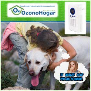 Ozonizador de aire versus purificador de aire. Disfruta en tu hogar de tus mascotas sin los inconvenientes de los olores de los animales. http://www.ozonohogar.com/es/ozonizador-ozonizadores/18-ozonizador-domestico-mini-8436549630415.html