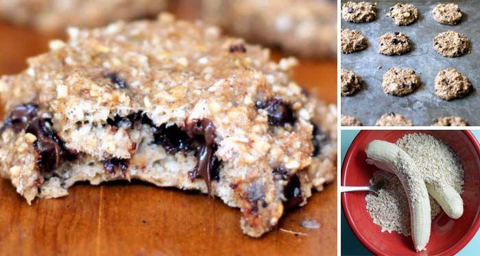 Zdravé a chutné cookies jen ze 2 surovin. Příprava trvá necelých5 minut! Samotné pečení trvá poté cca 15 minut podle velikosti cookies. Pokud se někam chystáte vyrazit a nemáte čas na jídlo, jsou tyto cookies skvělou volnou! Základ tvoří banány a ovesné vločky. Čokoláda a jiné ochucovadla nebudete