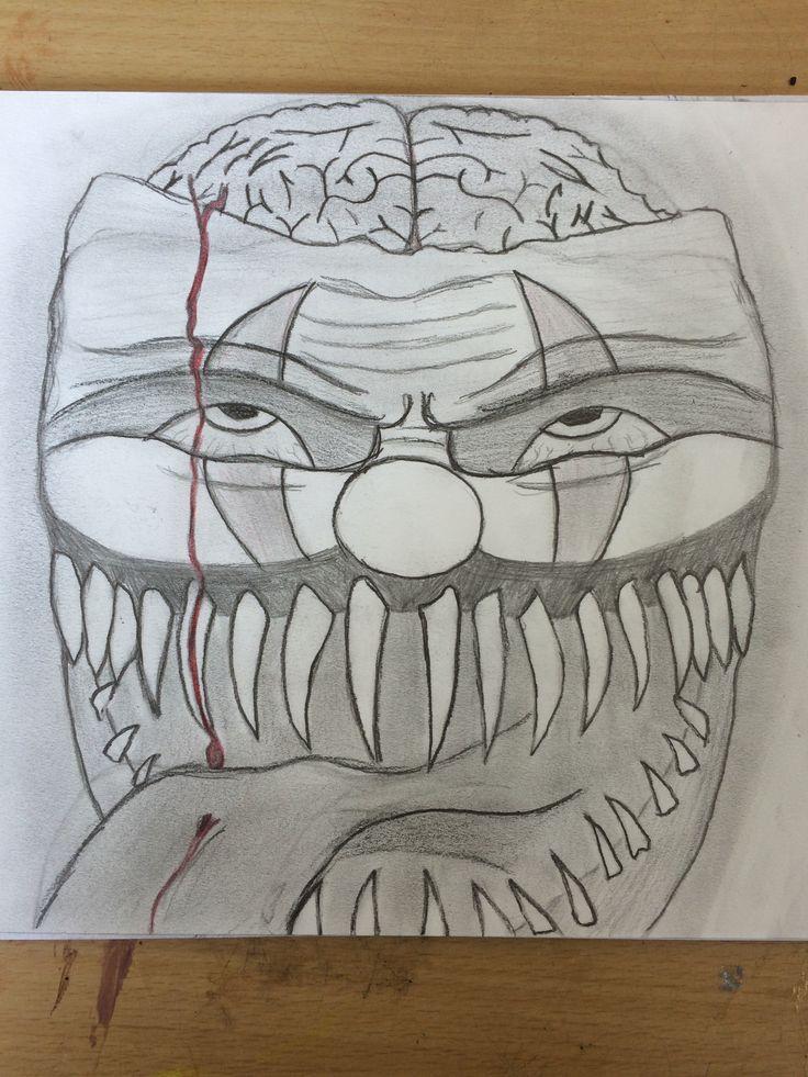 Clown, my imagination.
