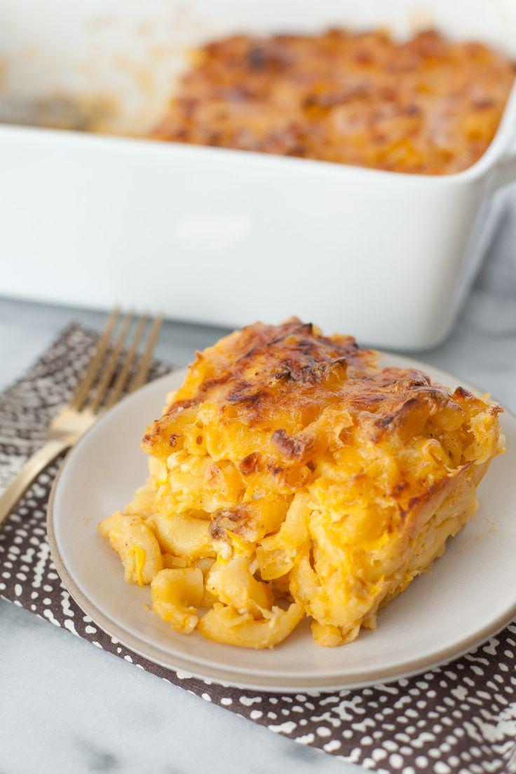 Baked Cauliflower Macaroni And Cheese Recipe Macaroni And Cheese Recipes Hidden Vegetable