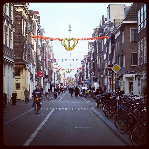 Stilte voor de storm #queensday Amsterdam