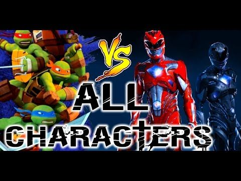#tmnt #angryfungames #games Teenage Mutant Ninja Turtles vs Power Rangers: Ultimate Hero Clash 2. In this fun online action game, players will compete in teams of two to take on other teams and master their own skills. Choose Mikey, Donnie, Raph or Leo to fight against the Black Ranger, the Red Ranger, the Pink Ranger or the Silver Ranger. Switch it up and pit Turtle against Turtle, Ranger against Ranger, go on different missions and earn achievements in this fun online fighting game.
