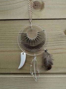 Lizet van der knaap, Necklace Dreamcatcher