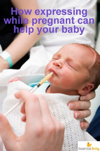 In perfect circumstances, colostrum should be every newborn's first feed. Here's how to express while pregnant so you can give it to your baby