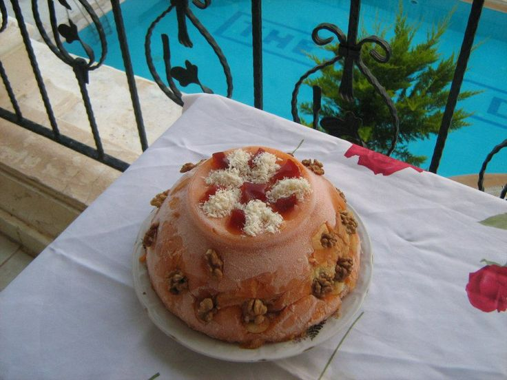 kayısılı pasta...