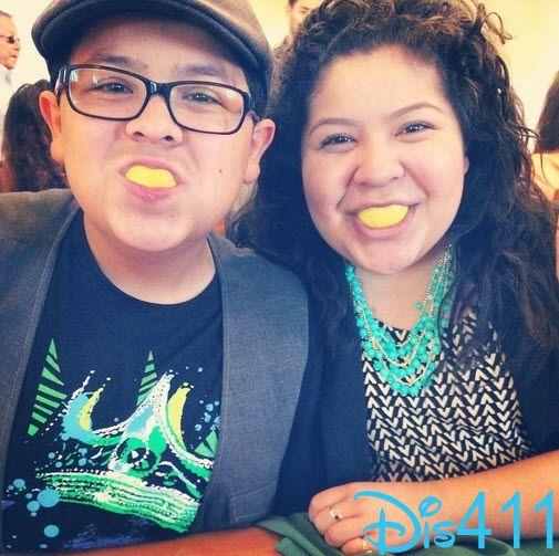 Raini Rodriguez Wished Rico Rodriguez A Happy Birthday July 31, 2014