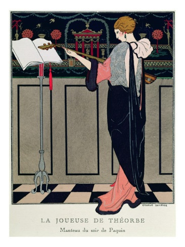 Summer Evening Wear from Art Gout Beaute, 1922 by Georges Barbier
