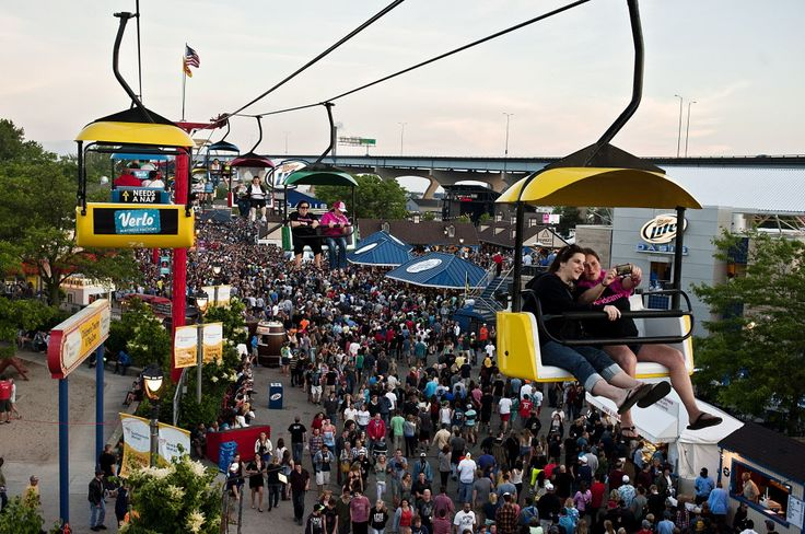 Here�s a complete schedule for 2014 Summerfest, by day.