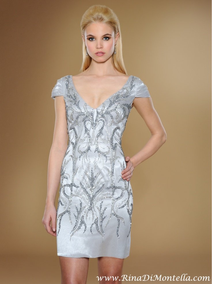 10 best Silver Dresses by Rina Di Montella images on Pinterest ...