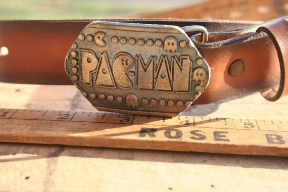 Vintage #Pac-Man belt #circa 1980