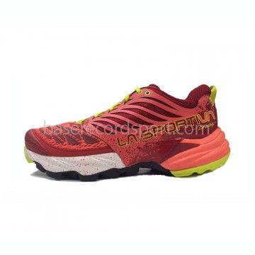 La Sportiva Akasha W Zapatillas de trail running para chica La Sportiva Akasha en color rojo, ideal para tus carreas de larga distancia. Ideal para las competiciones de resistencia, perfecta para largas distancias. #trailrunning #running #lasportiva #sport #deporte #pinterest #correr