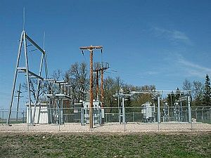 Electrical substation - Wikipedia, the free encyclopedia