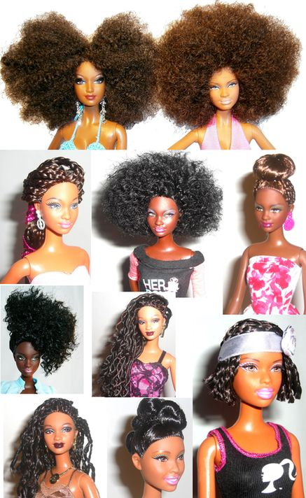 1 year natural hair styles 1999 best barbies barbies barbies images on 3880 | 17427fdd57020cb6a17961a13e2a1ac3 natural girls natural hair