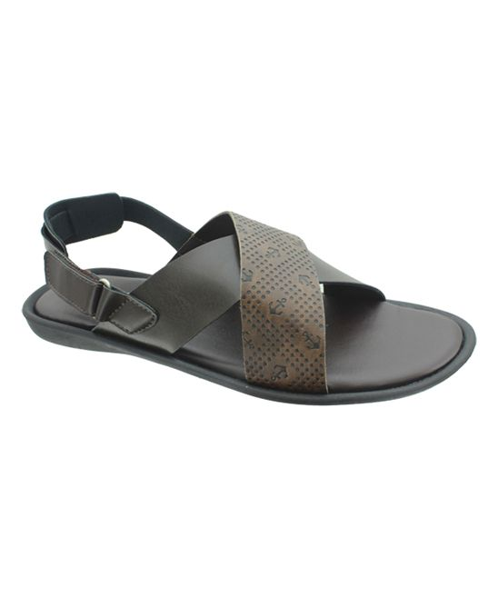 Brown Majestic Anchor Sandal