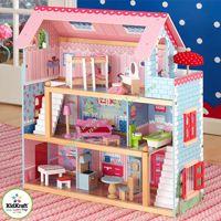 Кукольный домик KidKraft Открытый коттедж с мебелью 65054 NEW!