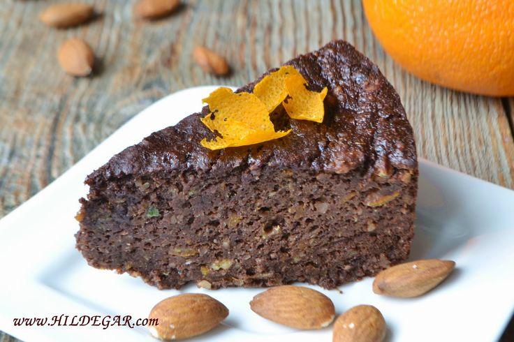 Ciasto czekoladowo-migdaowe