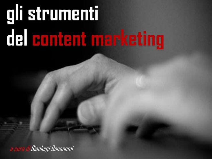 Gli strumenti del content maketing
