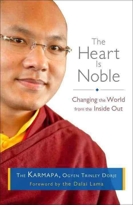 """Disconnected from our own noble heart ~ 17th Karmapa http://justdharma.com/s/sb5qg  We seem to have lost the sense that we can freely and happily extend ourselves for others. In modeling our social institutions on business principles, we have become very disconnected from our own noble heart.  – 17th Karmapa  from the book """"The Heart Is Noble: Changing the World from the Inside Out"""" ISBN: 978-1611800012…"""