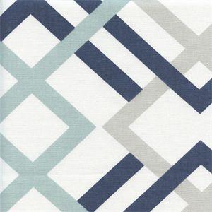 Winston Premier Navy Contemporary Drapery Fabric by Premier Prints - 53756 - BuyFabrics.com
