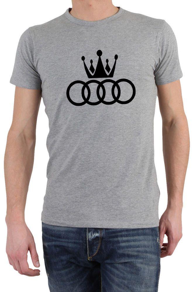 1a121207 AUDI KING PRINTED FUNNY T-SHIRT TEE TOP GREAT GIFT PRESENT IDEA #Gildan  #BasicTee