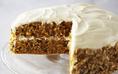 Carrot Cake With Cream Cheese Frosting Recipe by Anna Olson