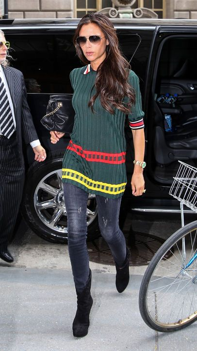 Victoria Beckham Shows Us Her Casual, Downtown-Cool Style (We Like!)