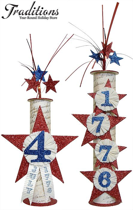 Patriotic Decorations & Patriotic Ornaments...I'm going to ...