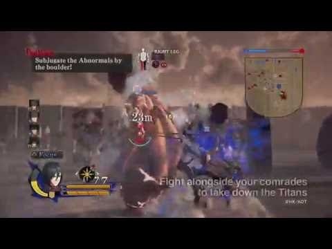 Attack on Titan Решающая Битва Trailer ¦ PS4