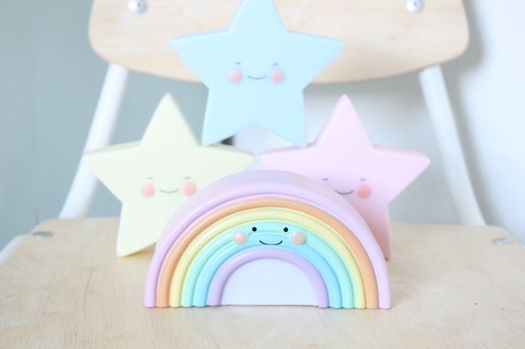 Nightlight #rainbow #nightlight #star