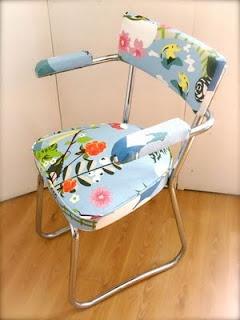 DIY relooker un vieux fauteuil de bureau