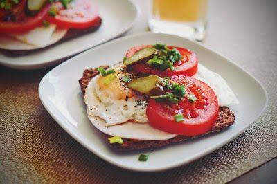 Fit & Fast Kitchen: Kanapka z jajem